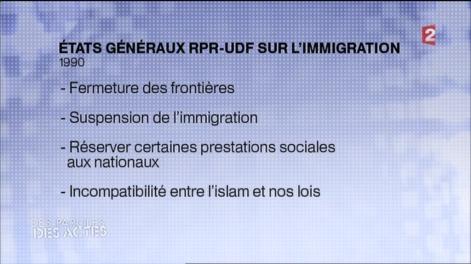Immigration - UMP 1990 - France 2
