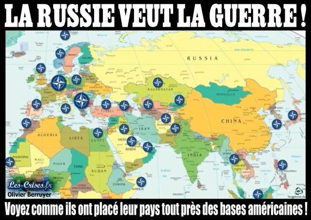 La Russie veut la guerre - la Preuve