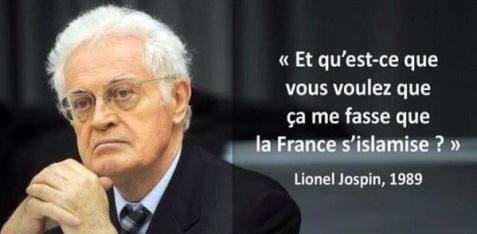 Lionel Jospin - la France s islamise