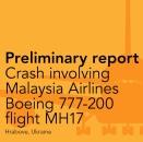 Rapport d'Enquête préliminiare de l'OVV sur le MH17
