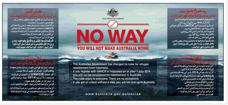 Immigration Australian-Government-No-Way-You-will-not-make-Australia-Home
