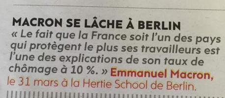 Macron trahison