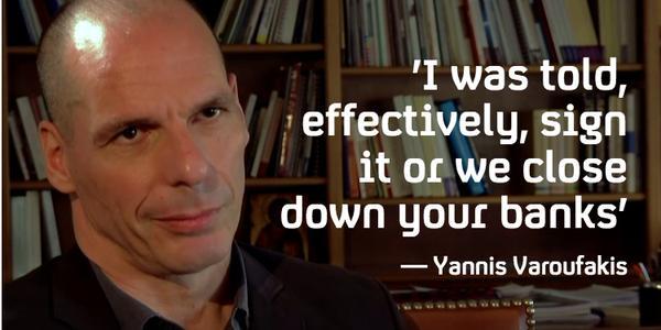 Varoufakis Terrorisme