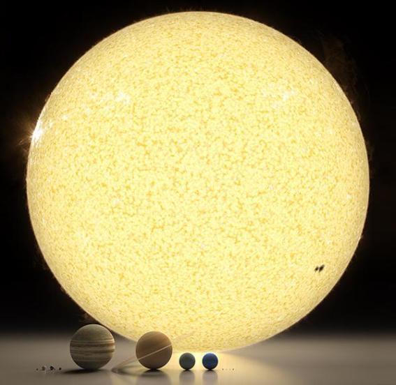 Le système solaire 01