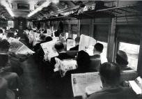 Auteur inconnu, les banlieusards, New-York, 1955