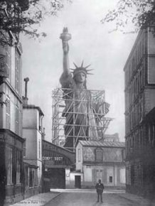 La Construction de la Statue de la Liberté, France