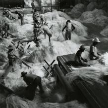 L'usine de sisal, Haiti. Fritz Henle. 1958.