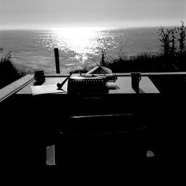 Le bureau d'Hunter Thompson, Big Sur, Années 60