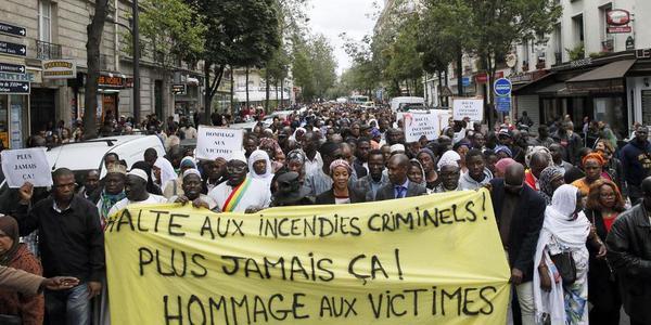 Immigration Paris Septembre 2015