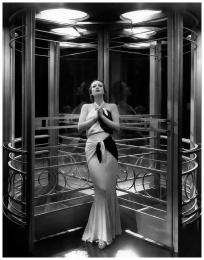 "Joan Crawford sur le tournage de ""Letty Lynton"", 1932"