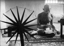 Gandhi photographié par Margaret Bourke-White