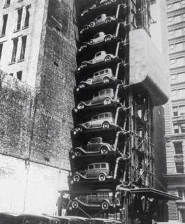 Parking, New-York, 1930
