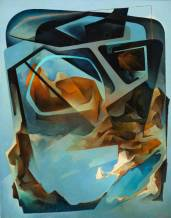 Paysage dans la carlingue; 1966