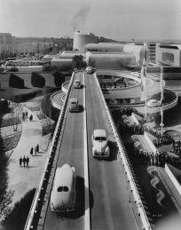 The Ford Motor Company building New York World's Fair, 1939