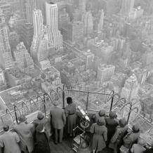 Vue de l'Empire State Building, 1950