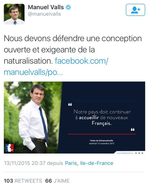 Valls Haute Trahison