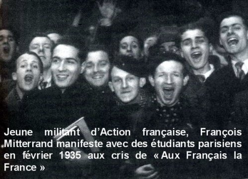 Mitterrand Action Francaise