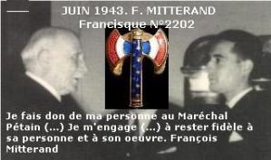 Pétain Mitterrand