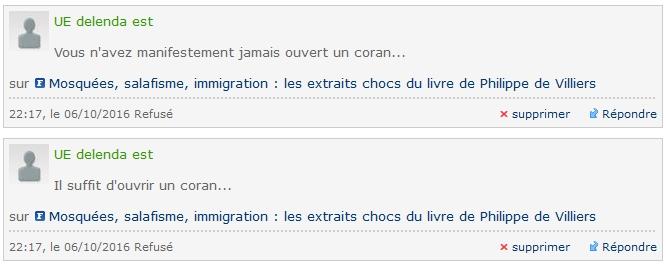 Censure isliamique au Figaro 01.jpg